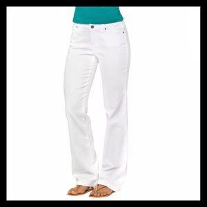 NWT Prana White Jada Jeans Size 6/28